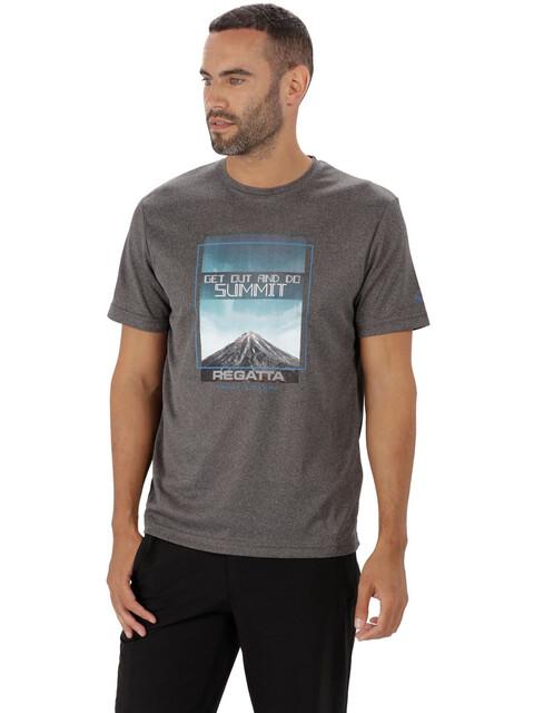 Regatta Fingal III - T-shirt manches courtes Homme - gris